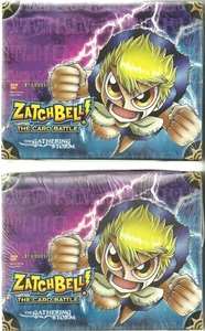 Zatch Bell Card Battle Game Set of 2 Gathering Storm Booster BOX (48 Packs)