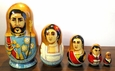 Hawaiian and Russian Nesting Dolls - Matryoshkas