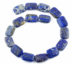 18x25MM Lapis Rectangular Gemstone Beads