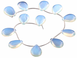 22x30MM Opalite Drop Gemstone Beads