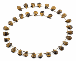 8x12MM Tiger Eye Gemstone Beads