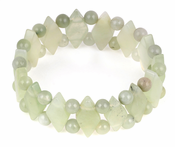 Plain Princess New Serpentine Gem Stone Bracelet
