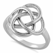 Sterling Silver Charmed Cross Ring