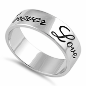 Sterling Silver Forever Love Ring