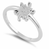 Sterling Silver Jester Ring