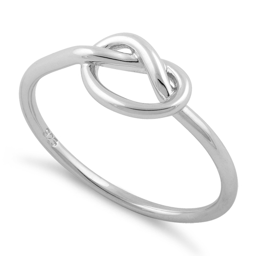 sterling silver knot ring for sale 70