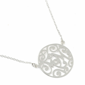 "Sterling Silver ""Mom"" Necklace"