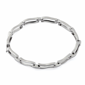 Sterling Silver Stylish Wave Bracelet