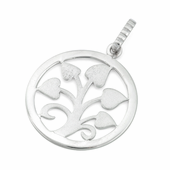 Sterling Silver Tree of Hearts Pendant