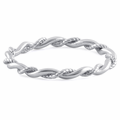 Sterling Silver Twist Ring