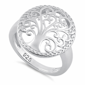 Sterling Silver Whimsic Tree of Life