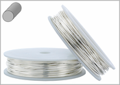 Sterling Silver Wire Round Soft 14GA 1oz approx.