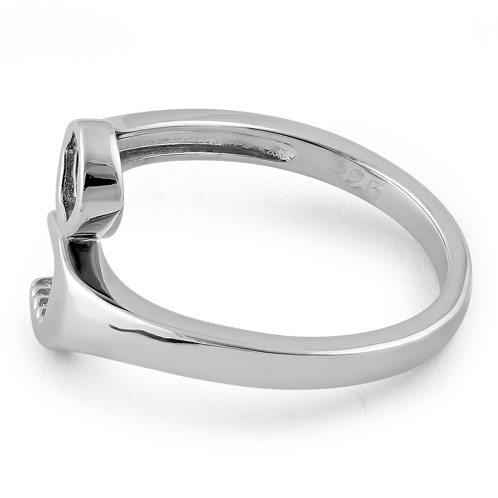 sterling silver wrench ring