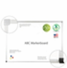 ABC� Porcelain Boards 4'H x 12'W