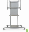 Elevation Mobile Stand + Flat Panel Mount