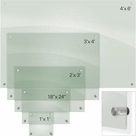 Enlighten Glass Dry Erase Markerboard - Frosted Pearl 4'H x 6'W