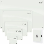 Enlighten Glass Dry Erase Markerboard - White 2'H x 3'W