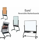 Euro Reversible White Dry Erase Marker Boards