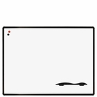 Euro Trim Porcelain Steel Whiteboard 4'H x 6'W