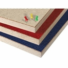 Fabric Covered Cork Plate Panels - Unframed  4'H x 4'W