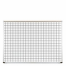 Porcelain Steel Grid Line Board 4'H x 8'W