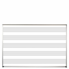 Porcelain Steel Music Line Board 4'H x 6'W