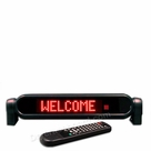 "Programmable Message Sign; Red LED, 1""H x 8""L"