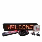"Programmable Message Sign - Ultra RED - 4""H x 17""L x 1""D"