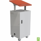 Trend Teacher's Desk Podium Cherry PVC top