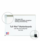 Tuf-Rite Markerboards with Dot Grid