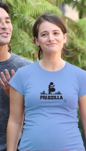 "SOLD OUT 2 Chix ""Pregzilla"" Maternity T-Shirt"