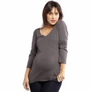9 Seed Long Sleeve Sprite Maternity Top - FINAL SALE