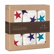 TEMPORARILY OUT OF STOCK Aden + Anais Bamboo Swaddles 3 Pack - Celebration