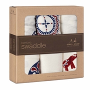 Aden + Anais Bamboo Swaddles 3 Pack - Diwali