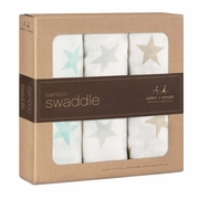 Aden + Anais Bamboo Swaddles 3 Pack - Milky Way