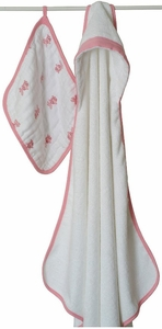 Aden + Anais Bathing Beauty Baby Hooded Towel and Wash Cloth Set