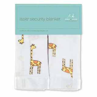Aden + Anais Classic Issie Security Blanket 2 Pack - Giraffe