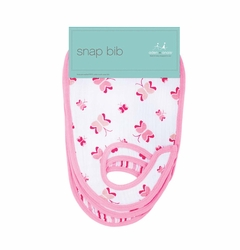 Aden + Anais Classic Snap Bibs 3 Pack - Princess Posie