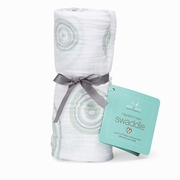 Aden + Anais Classic Swaddle Single Pack - Heart Of Mine Green