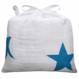 TEMPORARILY OUT OF STOCK Aden + Anais Classic Swaddle Single Pack - Twinkle Blue