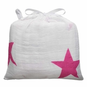 Aden + Anais Classic Swaddle Single Pack - Twinkle Pink