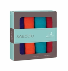Aden + Anais Classic Swaddles 4 Pack - B-Jeweled