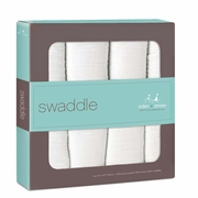 Aden + Anais Classic Swaddles 4 Pack - Dreamer (White)