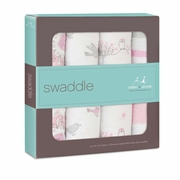 TEMPORARILY OUT OF STOCK Aden + Anais Classic Swaddles 4 Pack - For The Birds
