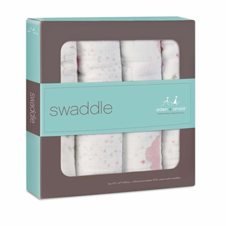 Aden + Anais Classic Swaddles 4 Pack - Lovely