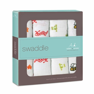 Aden + Anais Classic Swaddles 4 Pack - Mod About Baby