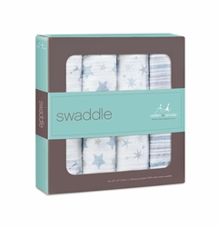 Aden + Anais Classic Swaddles 4 Pack - Prince Charming