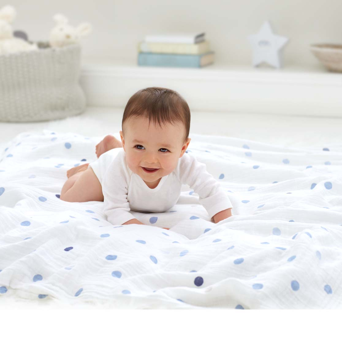 Aden & Anais muslin blankets are a must for new parents. Sales have grown through word of mouth.