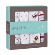 Aden + Anais Classic Swaddles 4 Pack - Vintage Circus