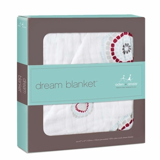 Aden + Anais Dream Blanket - Liam The Brave-Medallion
